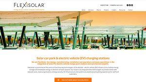FlexiSolar Web Design